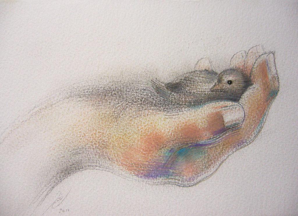 'Tenderly Held' © Jaimie Cahlil